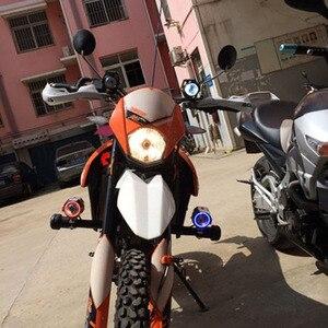 Image 4 - Huiermeimi 2PCS 125W Motorrad Scheinwerfer 3000LMW Motorrad scheinwerfer U5 U7 LED Moto Fahren auto Nebel Spot Kopf Licht lampe DRL
