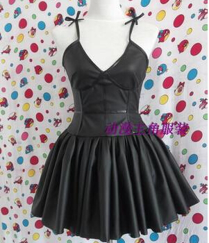 9ef91ef394 US $35.9  Free Shipping Women Sexy Halloween Cosplay Costume Mirai Nikki  Gasai Yuno Black Dress-in Anime Costumes from Novelty & Special Use on ...