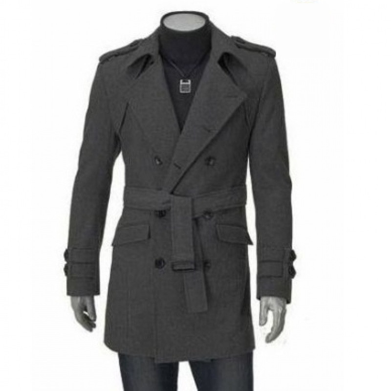 New Autumn Winter Windproof Comfortable Men Trench Fashion Designer Man Slim Mens Long Top Coat Business Clothes Plus Size