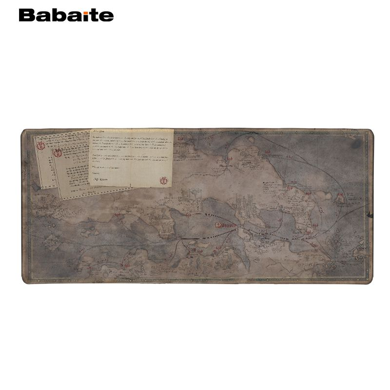 Babaite Wholesale And Retail Large Rubber Mousepad Marvel Map of ...