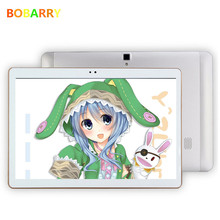 BOBARRY 10.1 inch Octa Core 3G 4G Lte tablet pc 1280*800 4GB RAM 32GB ROM Android 6.0 Bluetooth GPS IPS tablet  10.1 Gifts