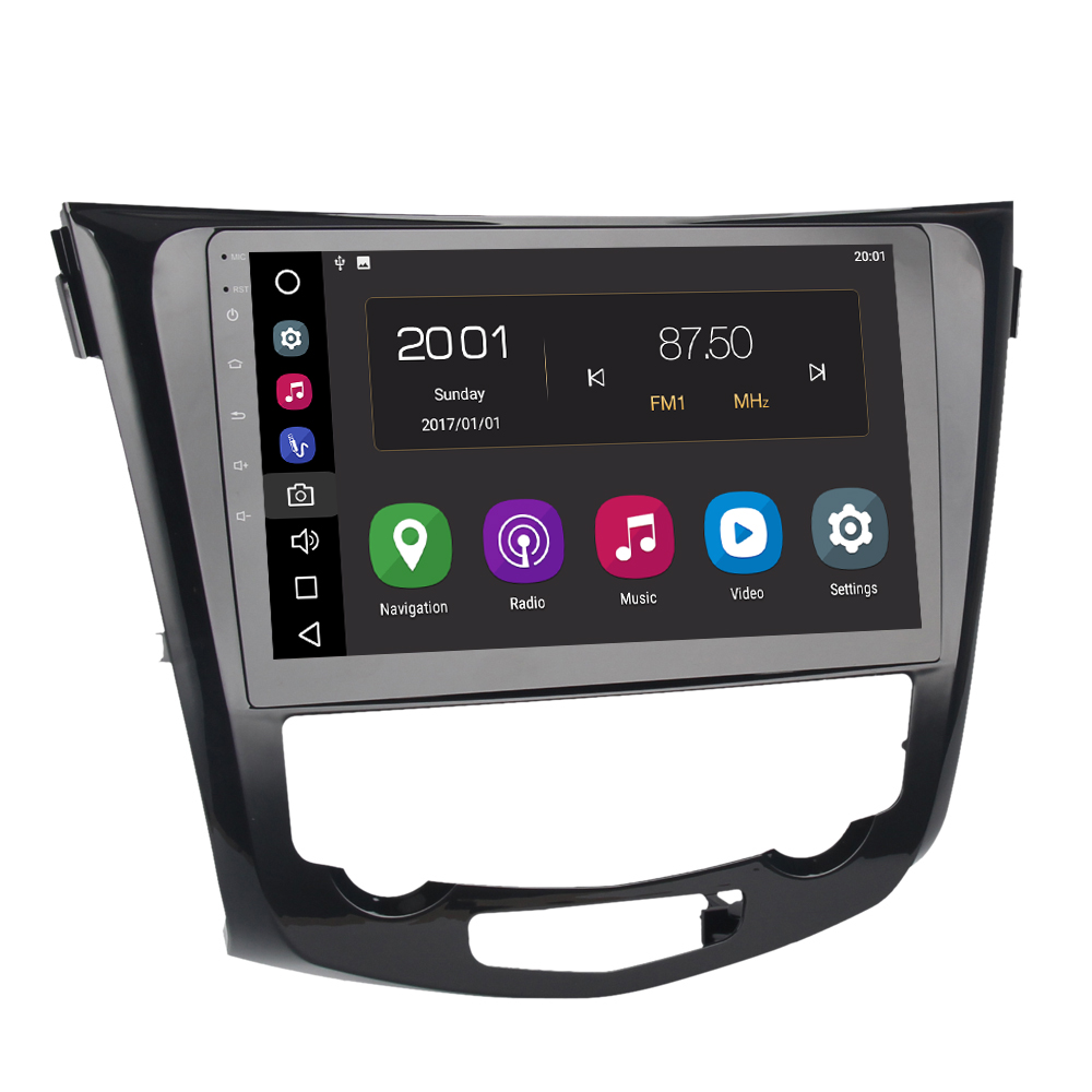 Car 2 din android 8 0 GPS for Nissan X trail 2013 auto radio navigation head