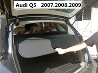 Car Rear Trunk Security Shield Cargo Cover For Audi Q5 2007.2008.2009 High Qualit Black Beige Auto Accessories