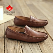 Men's Casual Shoes Men Moccasins Autumn Fashion Driving Boat Shoes Male 2020 Leather Brand Slip-On Cassic Men's shoes Loafers