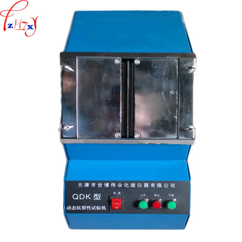 QDK automatic dynamic anti-cracking tester desktop automatic anti-cracking putty test machine 220V 30W 1PC