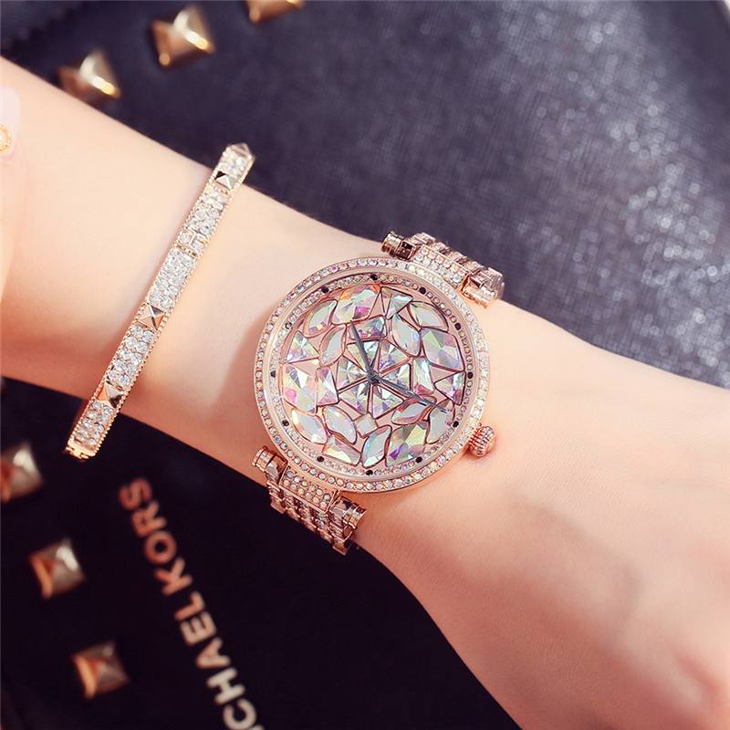 Top Luxury Brand Women Watches Fashion Full Crystal Diamond Bling Quartz Ladies Wristwatch Mujer Relojes Casual relogio feminino relogio feminino quartz watch fashion watch women luxury dom brand leather strap watches ladies wristwatch relojes mujer 2017
