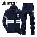 Jolintsai Мужчины Толстовки Устанавливает Brand Clothing Мужские Костюмы Устанавливает Vetements Негабаритных Толстовки Спортивной Одежды Мужские Спортивные Костюмы