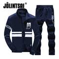 Jolintsai Men Hoodies Sets Brand Clothing Mens Tracksuits Sets Vetements Oversized Sweatshirts Sportwear Mens Sweat Suits