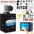 32948711534 - Cámara de Acción AKASO V50 PRO 4K 30FPS pantalla táctil WiFi Control remoto deportes videocámara DVR DV go Cámara pro impermeable