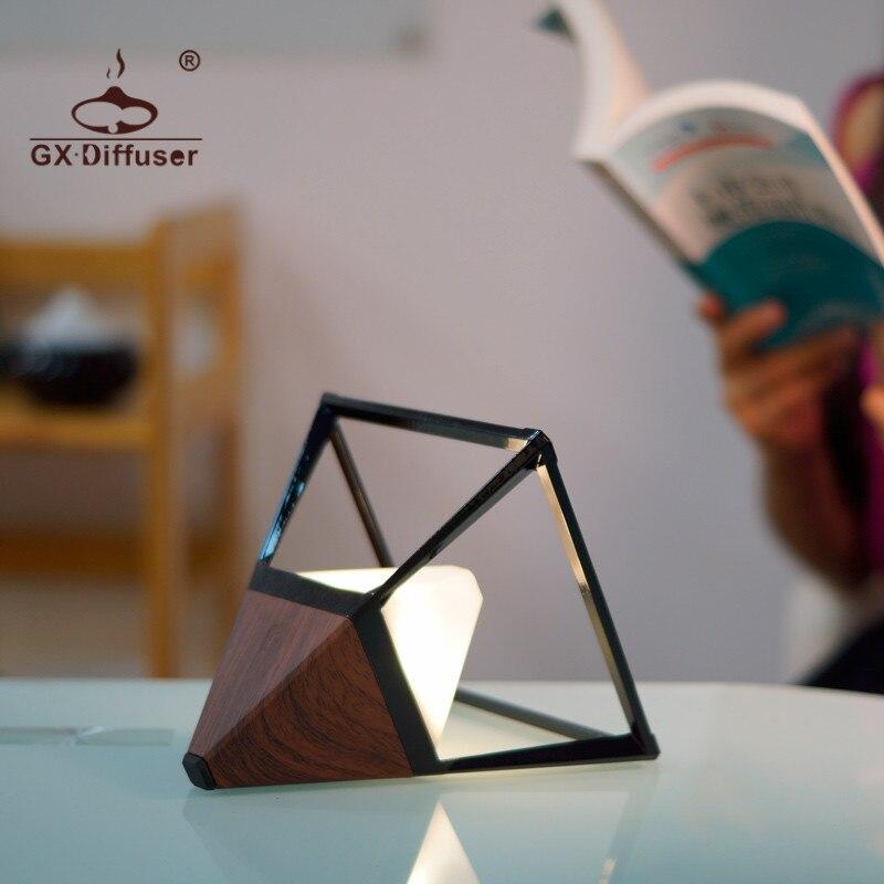 Gx. difusor à prova dwaterproof água lâmpada de mesa proteção para os olhos luz cabeceira quarto adorno luz da noite decoração lâmpada de mesa usb estudo