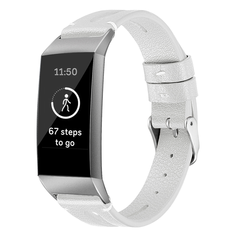 LXsmart New Fashion Leather strap For Fitbit Charge 4/3 band sport Smart Watch replacement Bracelet Belt wristband watch band 2