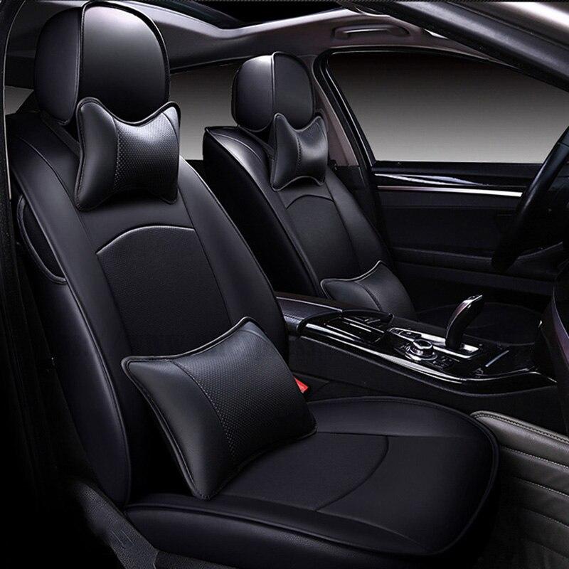 Acheter XWSN Personnalisé housse de siège de voiture pour hyundai Elantra solaris tucson de jigouli veloster getz creta i20 i30 ix35 i40 Voiture siège protecteur de Automobiles Siège Couvre fiable fournisseurs