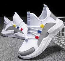 2019 Summer New Women School Girl Fashion Lace-up Air Mesh Casual Shoes Loafers Sneakers Platform