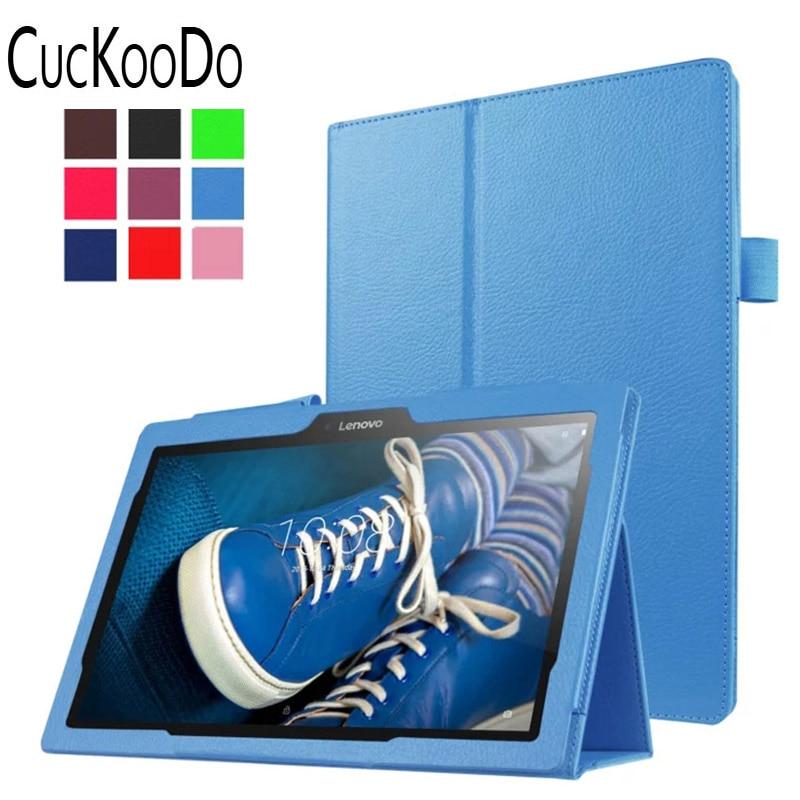 CucKooDo Cuero de poliuretano Soporte de múltiples ángulos Auto - Accesorios para tablets