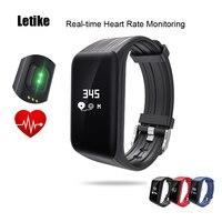 Letike WP-110 Smartband Herzfrequenz Schlaf-monitor Sport fitness Tracker Smart Armband Uhr Schrittzähler Wasserdicht PK miband 2