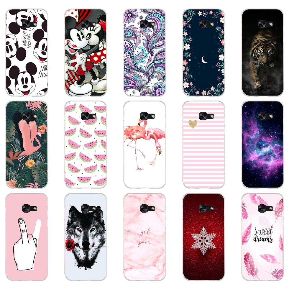 D For Samsung A5 2017 Case Soft Silicone Phone Case For Samsung Galaxy A5 2017 SM-A520F Cover Fundas For Samsung Galaxy A5 2017
