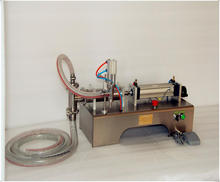 50-500ML Fully pneumatic filler liquid or paste filling machine, pneumatic,semi auto filler,single head liquid filler