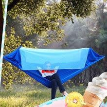 270 x 145 cm Ultra-Large 2 People Sleeping Parachute Hammock Chair Hamak Garden Swing Hanging Outdoor Hamacas Camping hot 2017