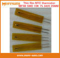 Fast Ship Livre 5 pçs/lote película Fina MF5B SMD tipo termistor NTC 10 K 1% 3435 25 MM comprimento NTC Sensor de
