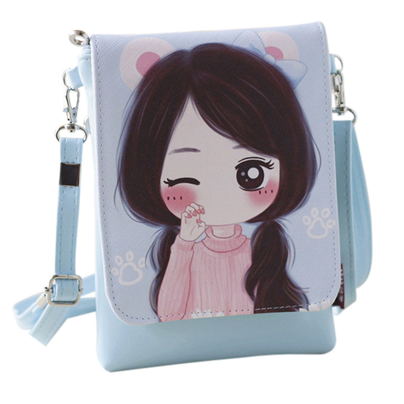 2017 Unique Design Women Fashion Cute Shoulder Bags Women's Handbags & Cartoon Handbags Kids Girls Mini Crossbody Bag A8  women brand 2017 cactus shoulder bags girls cute novelty funny bag leather handbags mini crossbody bags design clutch messenger