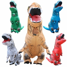 INFLATABLE Dinosaur T REX Costume Blow up Dinosaur Halloween Inflatable costume Party costume for adult