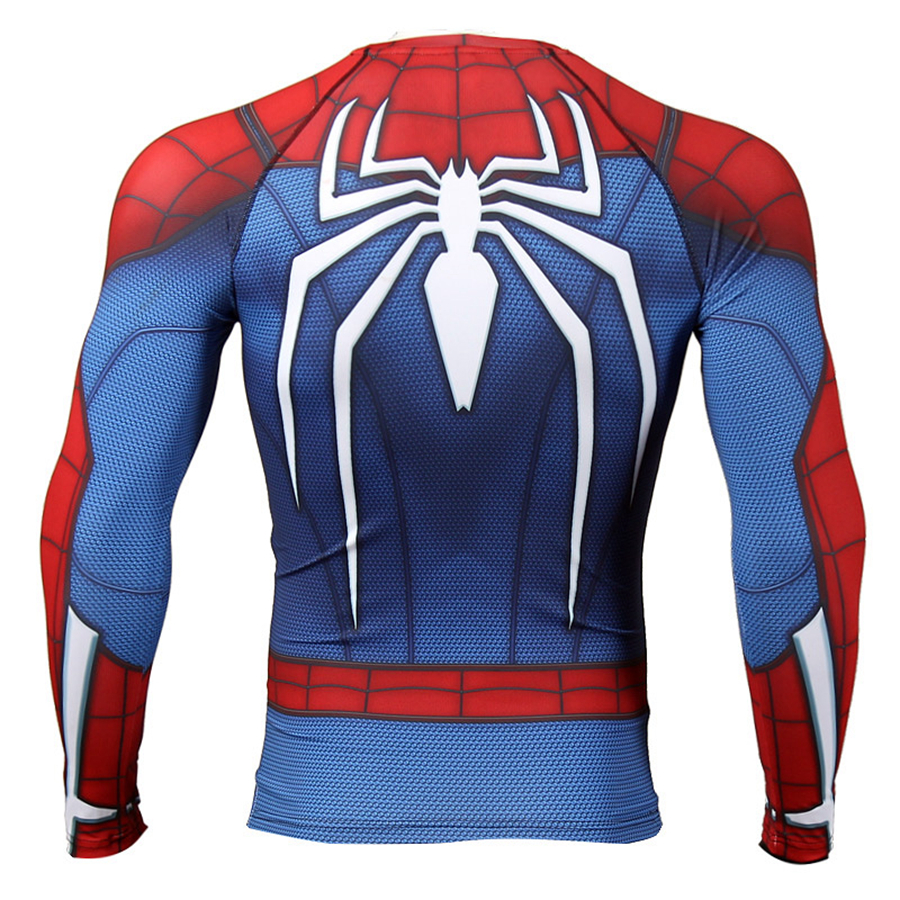 spiderman gym clothing men  (5)