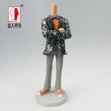 cake topper Customized portrait birthday gift creative gift Xiamen portrait doll life custom clay dolls fixed resin body DR014