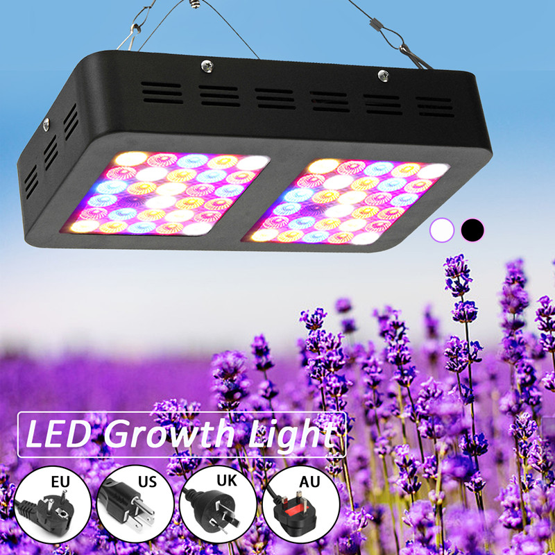 Smuxi 60 LED Grow Light 300W Full Spectrum For Indoor Greenhouse Growth Tent Plants Grow LED Light 110V-240VSmuxi 60 LED Grow Light 300W Full Spectrum For Indoor Greenhouse Growth Tent Plants Grow LED Light 110V-240V