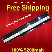 5200 мАч 6 cell аккумулятор для ноутбука Asus K52J K52F A52 A52J K42 K42F K52F K52J K52N А31-К52 А32-К52 A41-K52 A42-K52