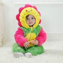 Creative 3D комикс младенцы одежда один частей детские комбинезоны костюм фланель
