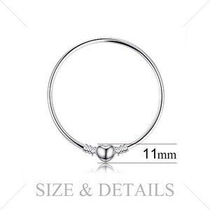 Image 3 - Jewelrypalace Original 925 Sterling Silverกำไลข้อมือสร้อยข้อมือผู้หญิงLove Heart Fitลูกปัดเงิน 925 เดิมDIY