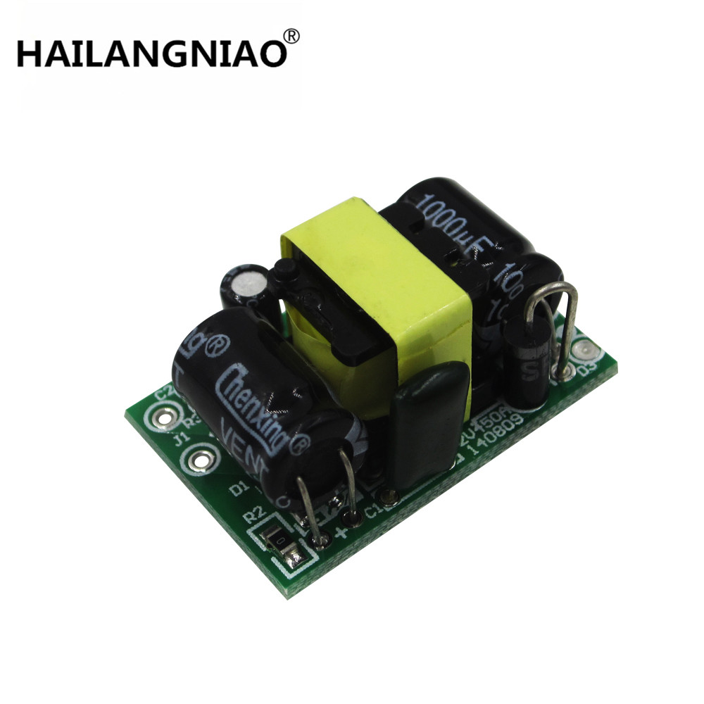 10pcs lot 5v 700ma 3.5w isolated switch power supply module ac-dc buck step-down module 220v turn 5v