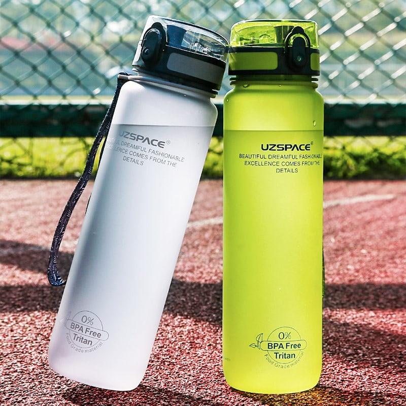 Outdoor Drink Water Bottle BPA Free Leak-Proof Cycling Hiking Sports 1000ml