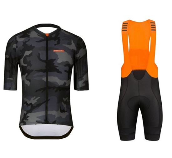 2019 Top quality stripe fabric cycling jersey short sleeve and MTB road bib shocycling 4D gel pad riding set cycling suit