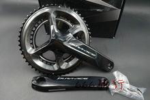 Dura ace FC-R9100 r9100 9100 pedaleira 2*11s 22s bicicleta de estrada roda dentada