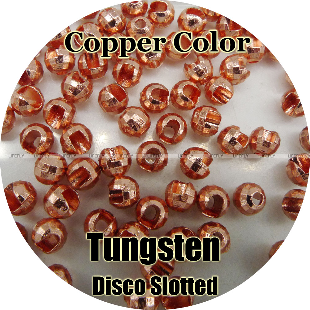Various Sizes 25 Tungsten Slotted Fly Tying Beads Silver