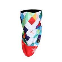 Уличная Лыжная Балаклава для сноубординга, зимняя теплая спортивная маска для лица с 3D принтом пиратов, треугольный шарф, лыжная маска