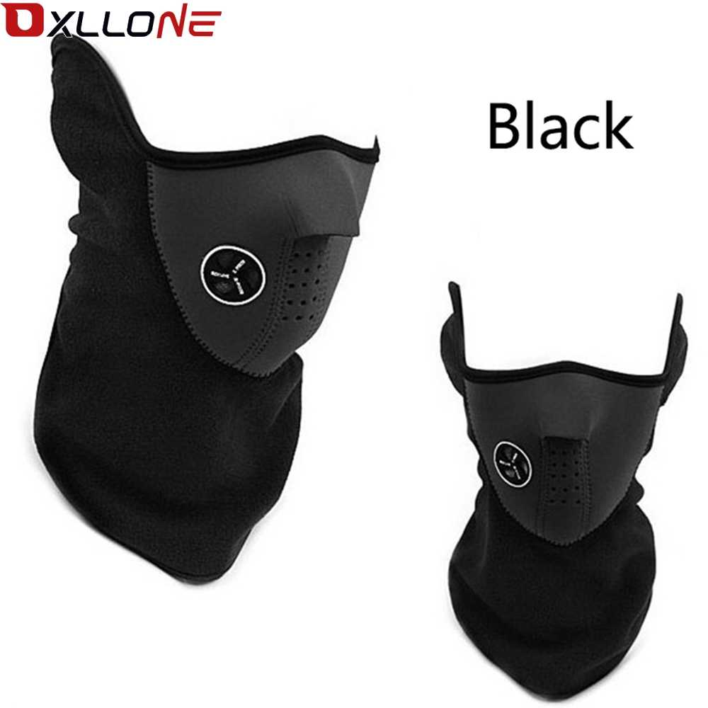 Windproof Outdoor Sport Cycling Sport Bike Motorcycle Mask Skiing Snowboard Neck Skull Masks Winter Ski Warm Face Mask Protectiv