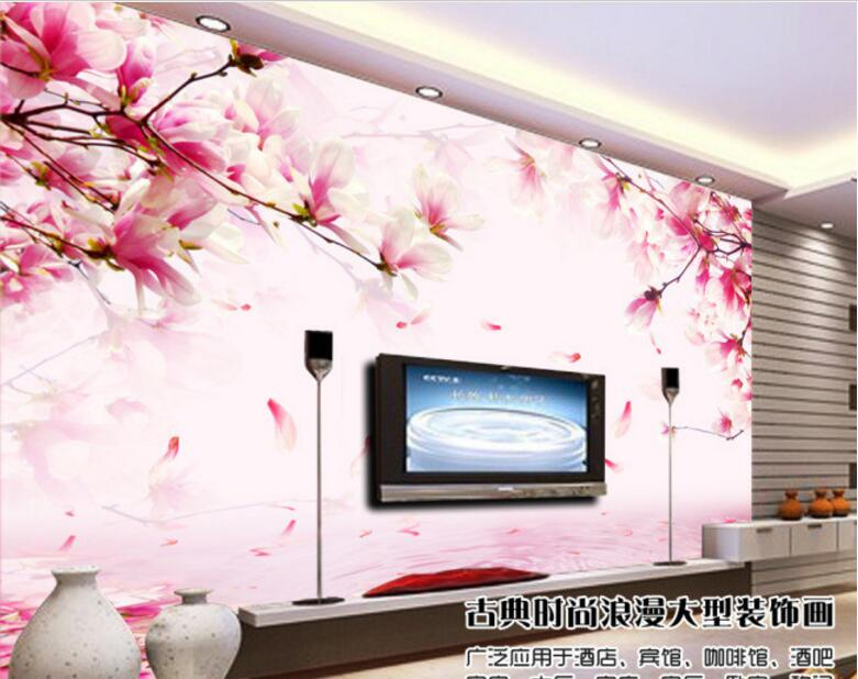 Custom Photo Wallpapers 3D Stereo Large Murals Pink Rose Wall Art living room TV sofa bedroom mural wallpaper book knowledge power channel creative 3d large mural wallpaper 3d bedroom living room tv backdrop painting wallpaper