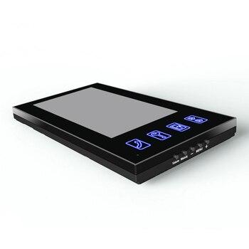 7 Inches Password Video Door Waterproof Electronic Lock Wireless Remote Control Unlock Phone Intercom Outdoor Door Bell