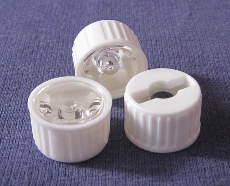 Materiais de Pmma Fósforo com Luxeon 20mm com o Tamanho do Titular: Lens Diâmetro: 5 Grau Seul Edison Qi-20 Led 22.5×14.1mm