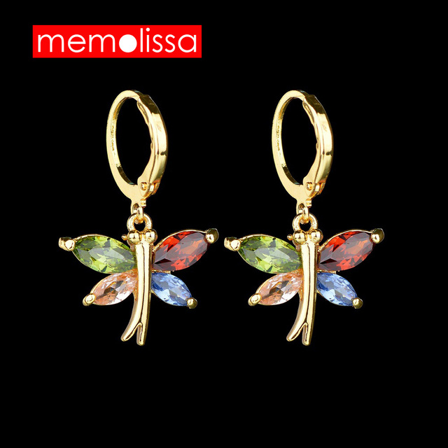 Mms Fashion Dangle Color Erfly Earrings Acrylic Drop Earring New Arrival 2018 Spring Summer Style For S Women Jewelry