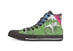 LSD Albert Hofmann rowerowy dzień dorywczo wysokie buty płócienne trampki dla Drop shipping