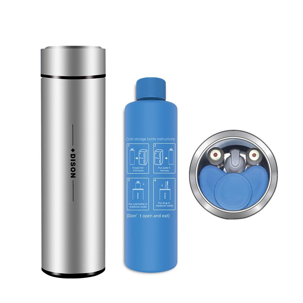 Isolados Saco Do Refrigerador de insulina Portátil Caso do Curso De Insulin do Diabético Cooler Box diabético frigorífico de refrigeração geladeira