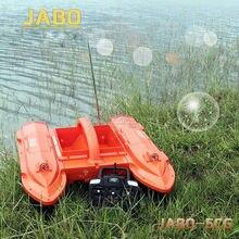 JABO 5CG 10A Radio Control Fish Finder RC Carp Bait Boat Night Sonar Detection GPS RTR Water&Temperature Detection