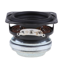 New 40mm 10W Full Range Audio Speaker Stereo Sound Black Replacement Accessories Convenient Disassembly Using Rubber Edge Design cary audio design dmc 600 black