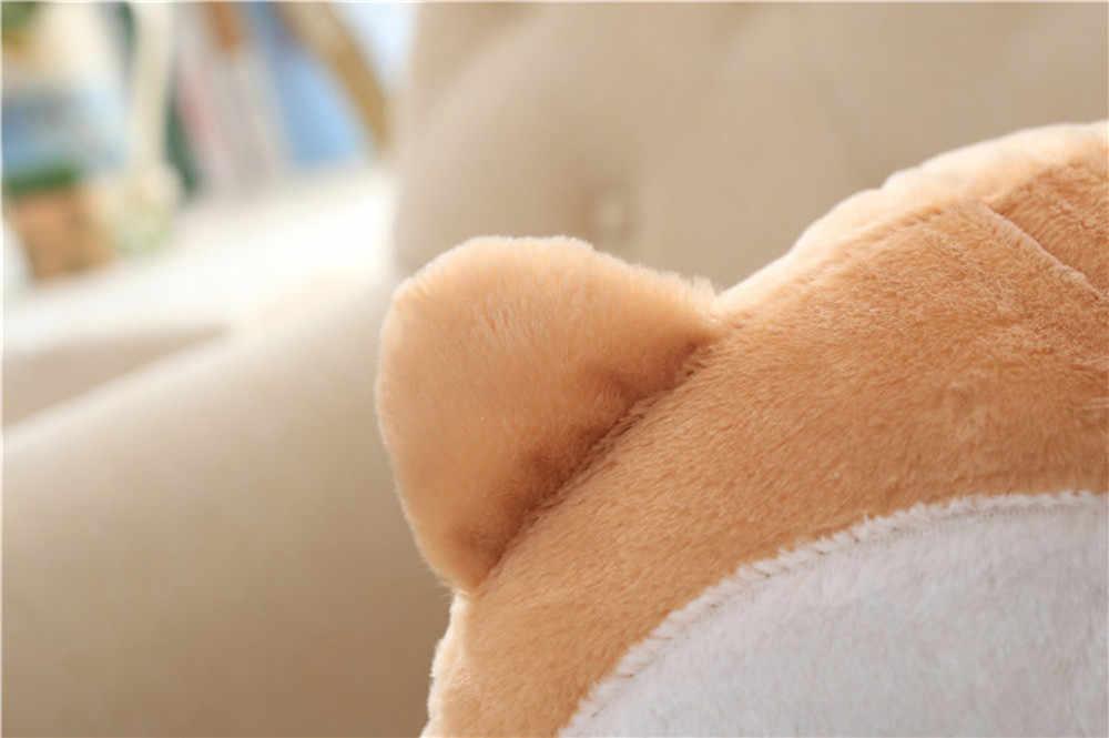 Новинка корги Нижняя прикладом плюшевая теплая подушка собака ягодицы ручная Подушка плюшевая грелка для рук диван подушка мягкая собака Детские игрушки