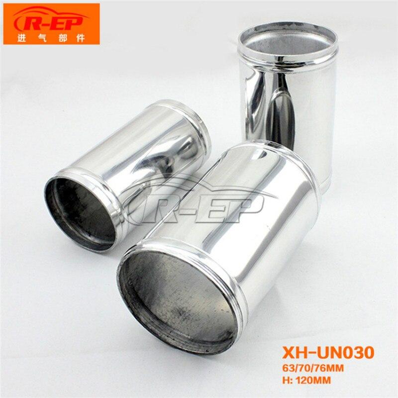 Car Styling rura uniwersalny DOPŁYW POWIETRZA rury aluminium samochód filtr powietrza rurociągi rozszerzenia zimnej przewód powietrzny System forda mustang