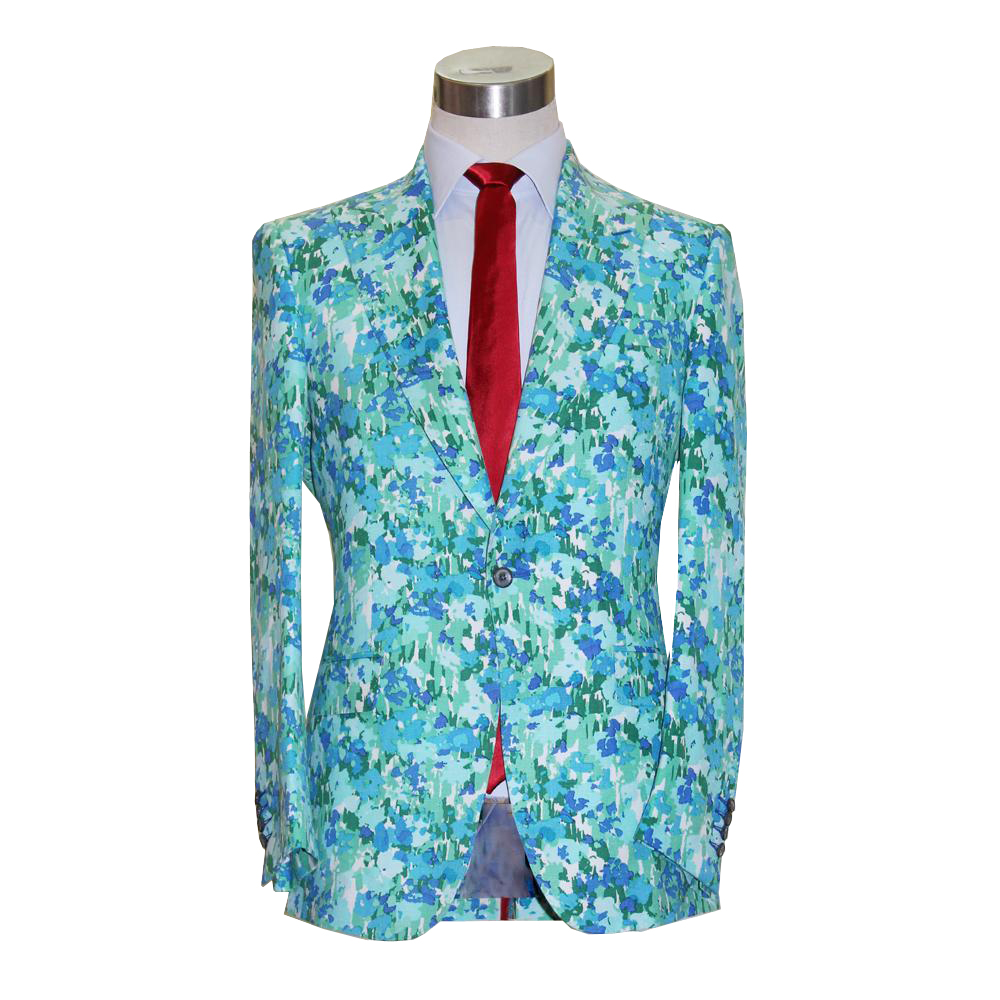 VA 2018 spring summer Christmas men\'s linen blazer business wedding ...