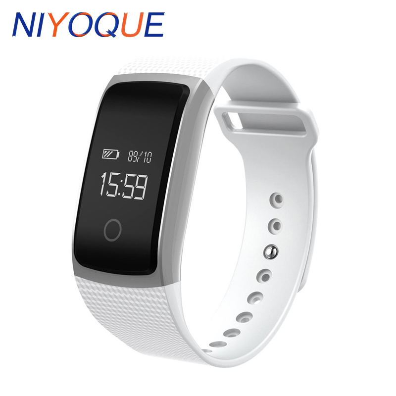 NIYOQUE A09 Bluetooth Smart Band Blood Pressure Oxygen Band Heart Rate Health Monitor Tracker Activity Waterproof
